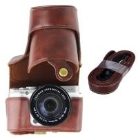 Full Half Case Fuji X-M1 X-A1 X-A2 leather Fujifilm Camera XM1 XA1 XA2