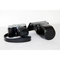 Full Half Case Fujifilm XM1 XA1 XA2 leather Camera Fuji X-M1 X-A1 X-A2