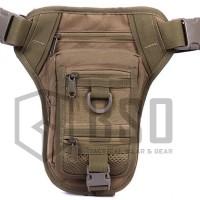 Tas selempang pinggang tactical waisted bag 176 witg pistol holster