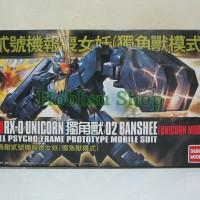 Gundam HG 1/144 Banshee Clear Parts [Unicorn Mode] - Daban Model