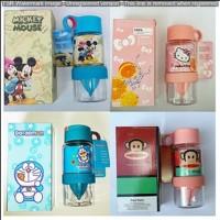 Citrus Bottle Mini Untuk Anak-Anak Lucu Gambar Karakter