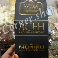 Bubuk Kopi Luwak Aceh Muniru 250gr