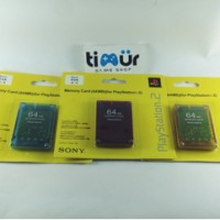 Memory Card mc PS2 64MB Lampu