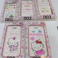 Flip Cover Blackberry Monza 9860/9850 Hello Kitty
