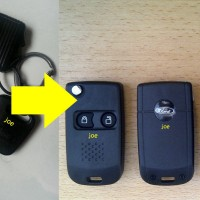 Casing Kunci Lipat Flip Key Ford Escape