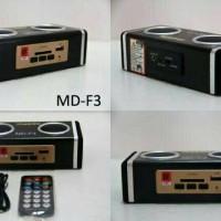 SPEAKER PORTABLE BOX USB NESDO MD-F3