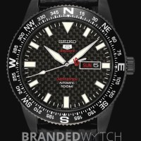 Jam Tangan Seiko 5 Sports SRP719K1 Black Carbon Fiber Limited Edition
