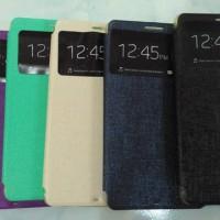 Sarung Ume Case Casing Flip Cover Dompet Lenovo K910 VibeZ Vibe Z