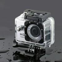 kogan action camera waterproof + mounting super lengkap + monopod