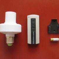 Jual Generic AC 220V E27 Lampu Rumah Remote Control Wireless Baru |