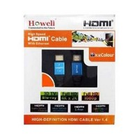 Jual Kabel HDMI V1.4 M-M 2M HOWELL Baru | Aksesoris TV Video Elektro