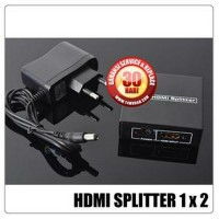 Jual Hdmi Splitter 2 Port 1.4 Hdmi Splitter, 5 V Power Supply, Suppo