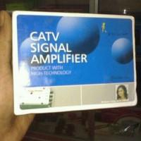 Jual Penguat Signal TV / Booster TV With 4 Splitter Baru | Aksesoris