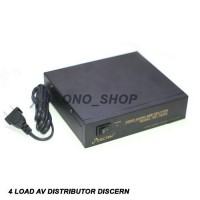 Jual 4 Load AV Distributor Discern 104VA Baru | Aksesoris TV Video E