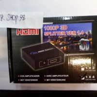 Jual HDMI Splitters 1 Input 4 Output 1080P Splitter For HD TV Baru |