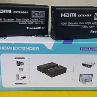 Jual Hdmi Extender Netline Single Cat5/6 Up To 60m Baru | Aksesoris