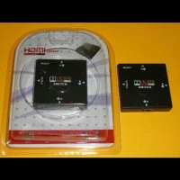 Jual HDMI SWITCH 1080P 3-1 (3 HDMI In To 1 HDMI Out) Baru | Aksesori