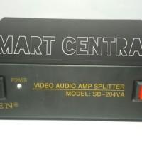 Jual AV Distributor 204 (2 Input 4 Output) Baru | Aksesoris TV Vid