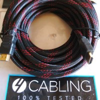 Jual Kabel HDMI 10M, Gold Plate Baru | Aksesoris TV Video Elektronik