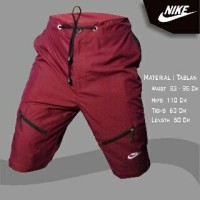 Training Pants Nike Storelli Taslan Maroon