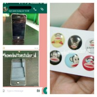 harga Paul Frank iPhone home button sticker Tokopedia.com