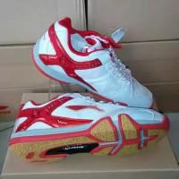 harga Sepatu Lining SAGA X white/red Tokopedia.com