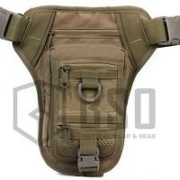 tas salempang tactical waisted bag 176 witg pistol holter