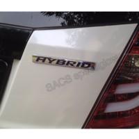 emblem hybrid honda
