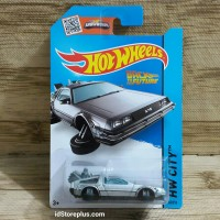 HOT WHEELS TIME MACHINE HOVER MODE BACK TO THE FUTURE HW CITY 45/250