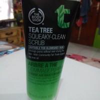 The Body Shop Tea Tree Scrub / Tbs Tea Tree Scrub / Preloved Tbs Scrub