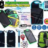 Power Bank Solar 99000mAh | Waterproof | 2 OUTPUT (OEM)