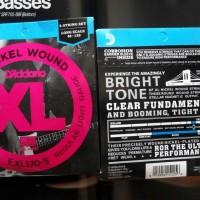 Senar Bass 5 String D'addario Exl170-5 New Pack Original