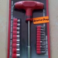 Kunci Sok Plus Palu Karet Obeng Min Plus (-) (+) Good Quality