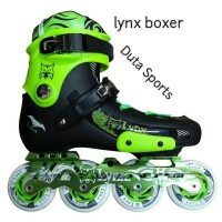 Sepatu Roda LYNX BOXER ( Neon Green )