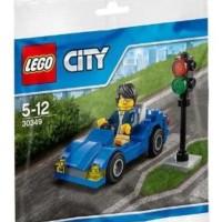 harga LEGO City 30349 Sports Car Set Blue Sport Motorcar Speed Racer Polybag Tokopedia.com