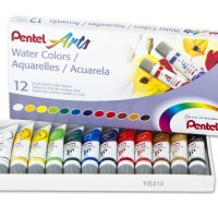 Pentel Water Colours Set 12 - Water Colour Watercolour Cat Air Pentel