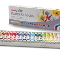 Pentel Water Colours Set 18 - Water Colour Watercolour Cat Air Pentel