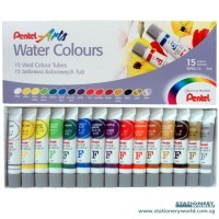 Pentel Water Colours Set 15 - Water Colour Watercolour Cat Air Pentel