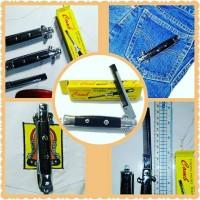 Jual Switchblade Comb / Sisir Pomade / Sisir Lipat / folding pocket comb Murah