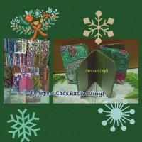Jual Passport Case Batik - Vinyl Murah