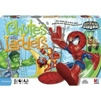 CHUTES AND LADDERS Super Hero Squad - HASBRO