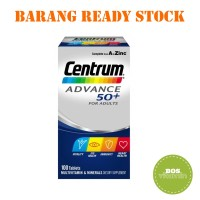 Centrum Advance 50+ for Adults 100 Tablet