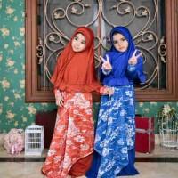 gamis syari anak/baju muslim anak/bergo set anita
