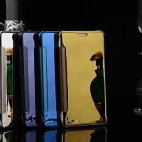 Samsung Galaxy Note 4 Smart Cover Flip Book Case Autolock Transparan