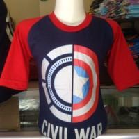 Kaos Anak Karakter Civil War