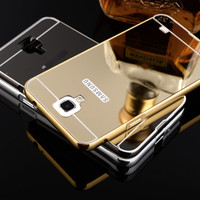 Samsung Note 3 Neo N7505 Bumper Hard Case Mirror Aluminium With Back C