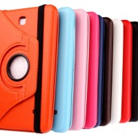 harga Tab 4 T330 T331 Leather Rotary Case casing rotari tablet samsung Tokopedia.com