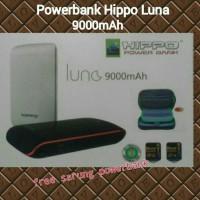 Ori 100%... Hippo Luna 9000mAh Powerbank/Power Bank Free Pocket PB