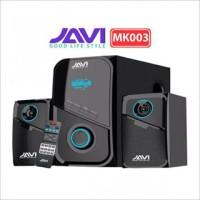 Speaker Aktif Bluetooth Javi Mk 003 Super Subwoofer Bass(bisa karaoke)