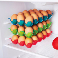 Tatakan Tempat Muat 15 Telur Rak Telur Organizer Telur Bahan Plastik